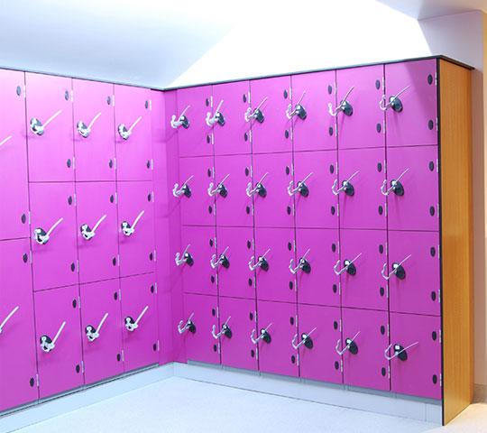 Changing & Locker Rooms
